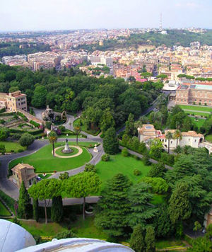 Jardines del vaticano visita guiada reservar visitas del for Jardines vaticanos