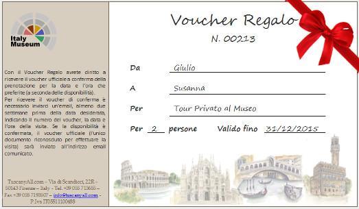 Regalo Musei Vaticani, Colosseo, Galleria Borghese... Roma