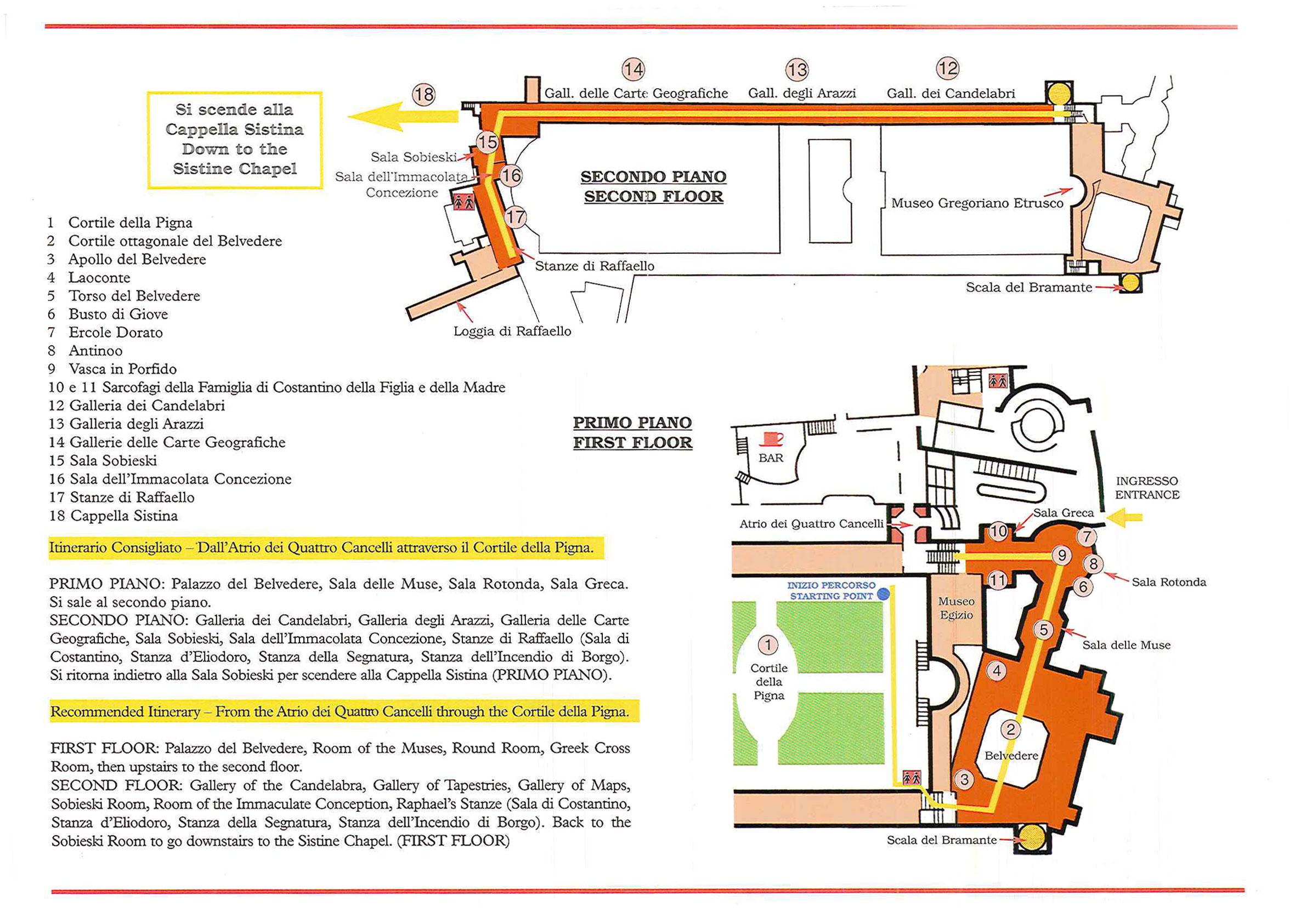 Reservaciones Tours Guiados Grupo Museos Vaticanos on Basilica Floor Plan