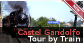 Apostolic Palace of Castel Gandolfo with Train Transfer guided tour