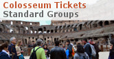 Colosseum Palatino & Roman Forum Tickets - Standard Groups - Rome