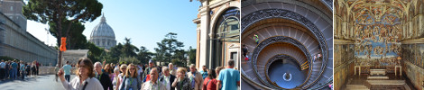 Guided Group Tours Vatican Museums and Sistine Chapel